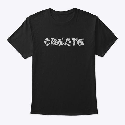 Create Black T-Shirt Front