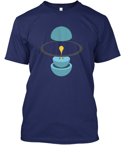 Layers Uranus V [Usa] #Sfsf Midnight Navy T-Shirt Front