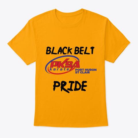 Pksa Port Huron/St Clair Black Belt Gold T-Shirt Front