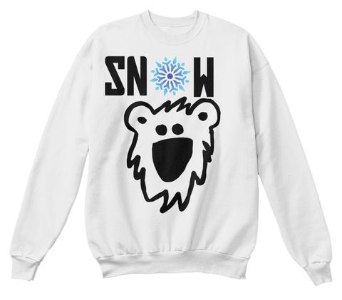 Sn  W White  T-Shirt Front