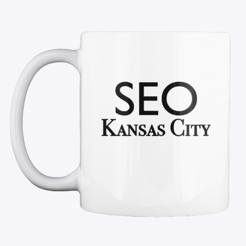 Seo Kansas City Mug White T-Shirt Front