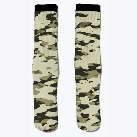 Military Camouflage   Arid Desert Vi Standard T-Shirt Front