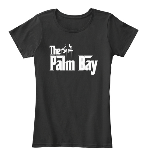 Palm Bay The G Father Parody Tee Black T-Shirt Front