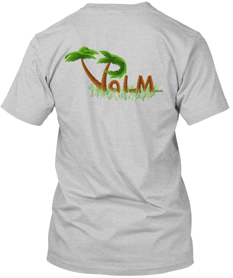 Valm Light Steel T-Shirt Back