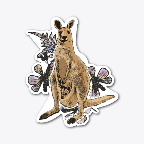 Real Deal: Kangaroo Standard T-Shirt Front