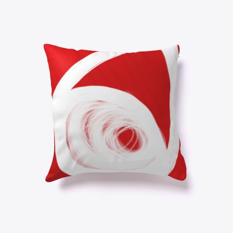 Red Eye Pillow De Guillermo Morante Standard T-Shirt Front