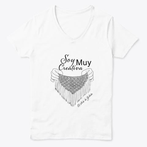 Soy Muy Creativa White  Camiseta Front