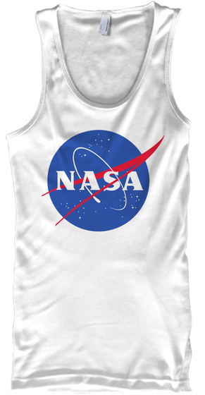 Space   Limited Edition White T-Shirt Front