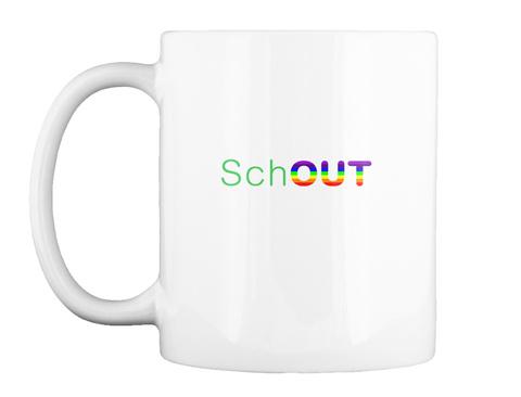 Schout White Mug Front