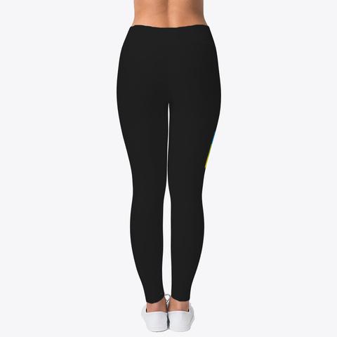 Girls Leggings للبنات Akerbay I Terbatin Black T-Shirt Back