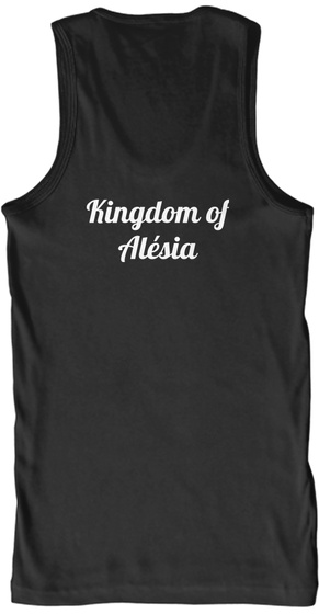 Kingdom Of Alésia Black Tank Top Back