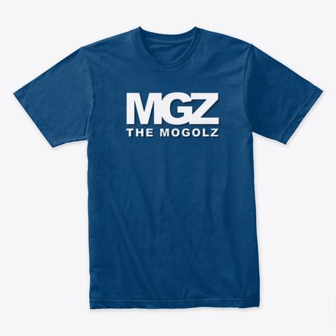 Mgz Merch Cool Blue T-Shirt Front
