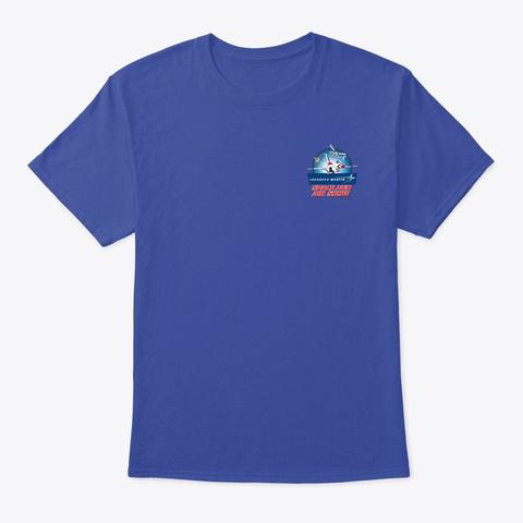 Lmsas F 22 Raptor T Shirt Deep Royal T-Shirt Front
