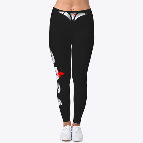 Student Body Sports Apparel  Leggings Black T-Shirt Front