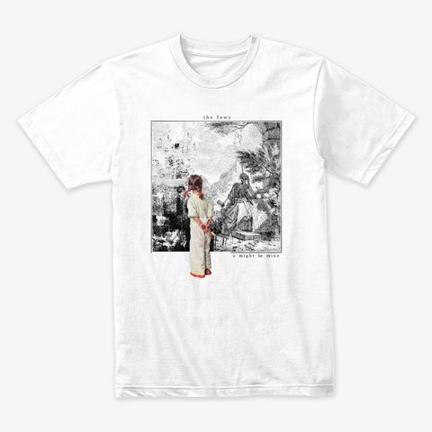 The Lows White T-Shirt Front