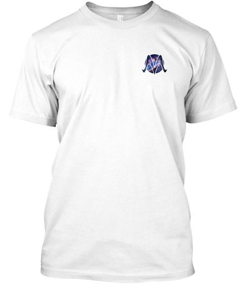 I/O White T-Shirt Front