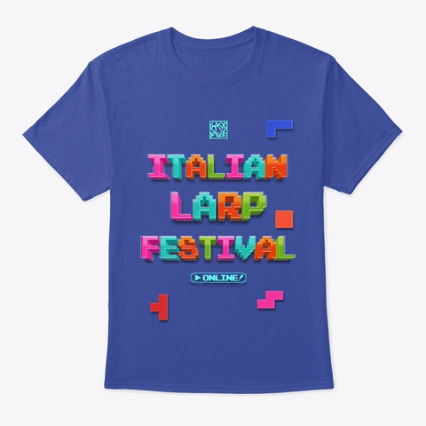 Italian Larp Festival   Digital Edition Deep Royal T-Shirt Front