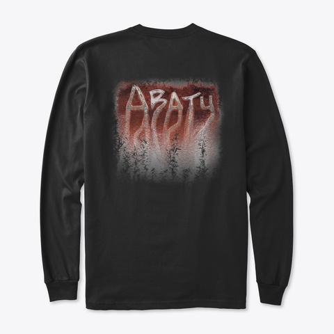 Abatu Merch Black T-Shirt Back