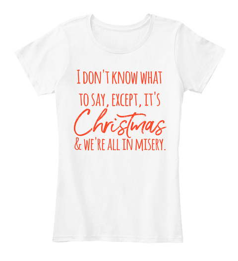 8c2bd6e9 Funny Ladies Christmas T Shirts, Holiday Products from Hooray for ...