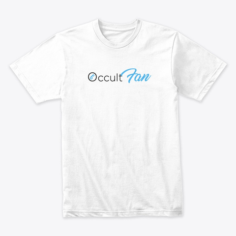 Occult Fan 15th Anniversary L/E Tee Shirt White T-Shirt Front