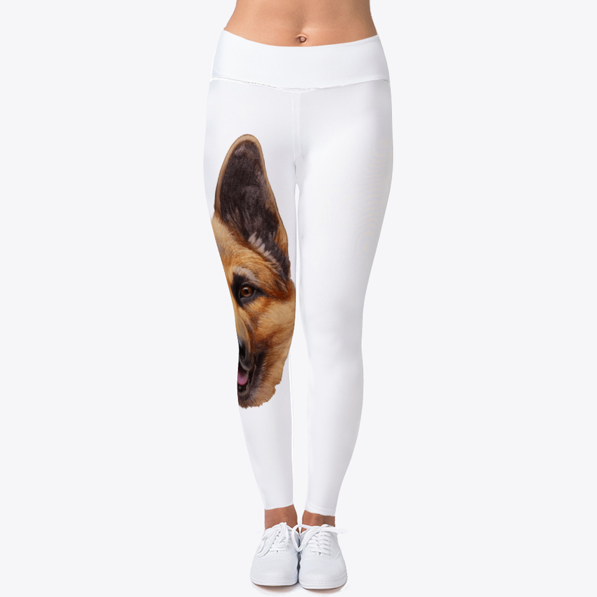 776c29e398340 German Shepherd. Pillow - An Women's Print Fitness Stretch *Leggings* Yoga  Pants