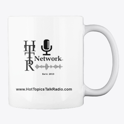 Real World News Tv Coffee Mug White T-Shirt Back