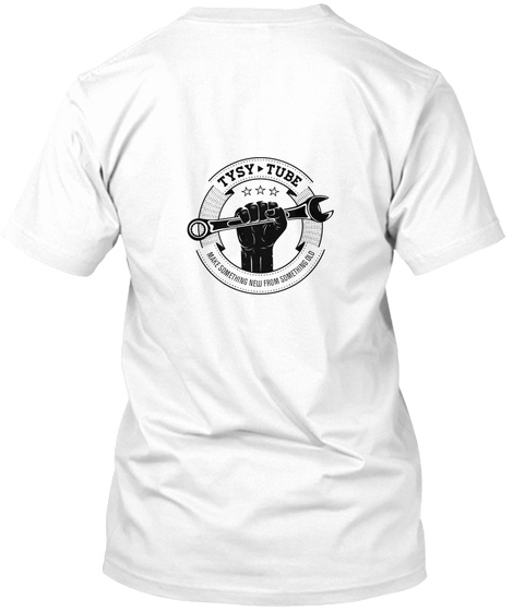 This Is My Limited Edtion Apparel White T-Shirt Back