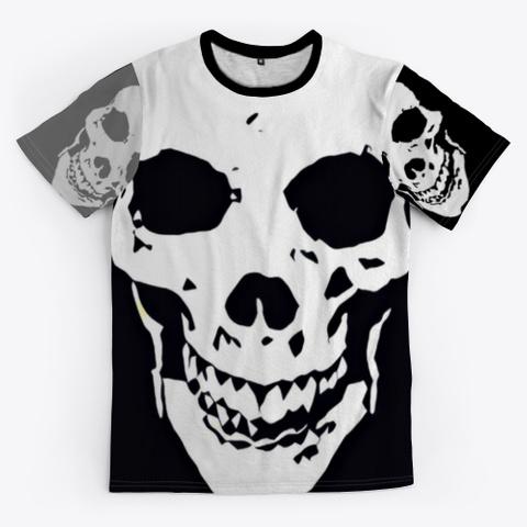 Retro 90's Skulls | Halloween Design  Standard T-Shirt Front