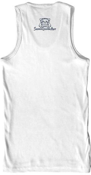 Sierralilliamart White áo T-Shirt Back