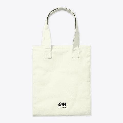 """Tote Bag """"Triunfa"""" De Guillermo Morante Natural T-Shirt Back"""