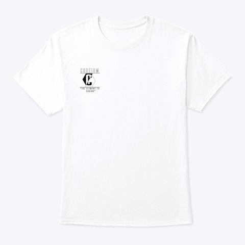 Codeium Merch White T-Shirt Front