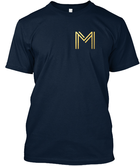 M New Navy T-Shirt Front