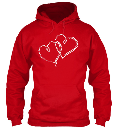 Red Valentine's Day Gifts 2018 Red T-Shirt Front