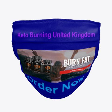 Keto Burning United Kingdom Burn Fat! Deep Navy T-Shirt Front