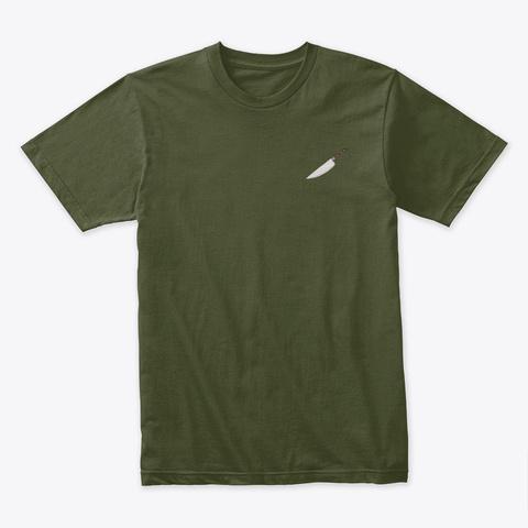 Inner Demon Military Green T-Shirt Front
