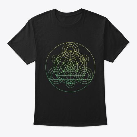 Sacred Geometry Alchemists Minion Black T-Shirt Front