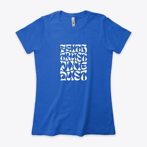 Pixie Dust Royal T-Shirt Front