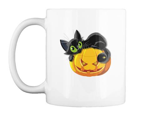 Cheap Halloween Mugs White T-Shirt Front
