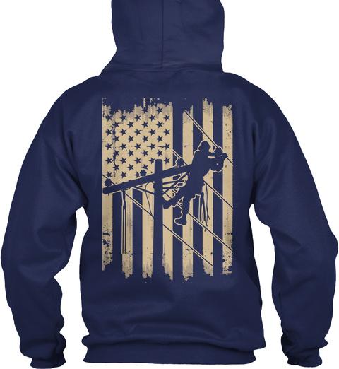 O/I. Navy T-Shirt Back
