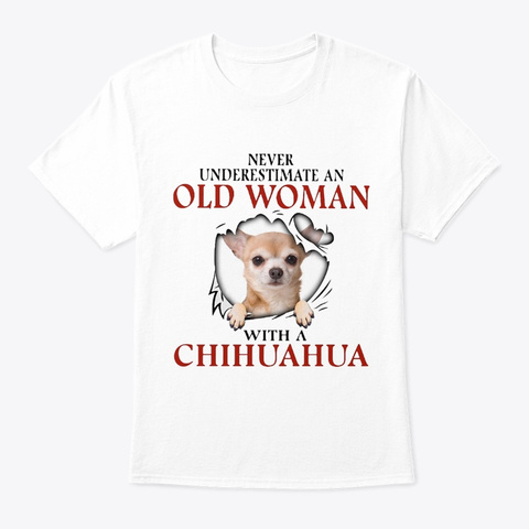 Chihuahua 641800 White T-Shirt Front