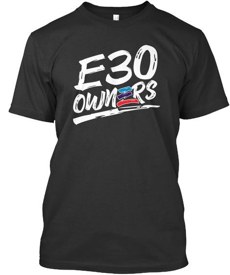 E3 U Owners Black T-Shirt Front