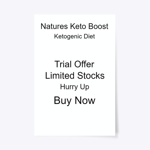 Natures Keto Boost® Shark Tank! Standard T-Shirt Front