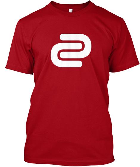 David Cutter Music Red Tee Deep Red T-Shirt Front