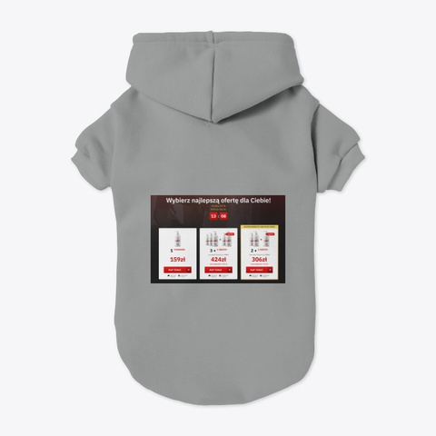 Libidx Gel Poland Grey Camiseta Back