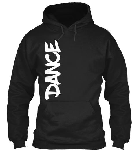 Dance Black T-Shirt Front