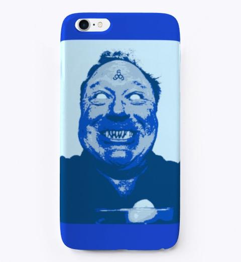 Alex Zombie Jones Royal Blue T-Shirt Front