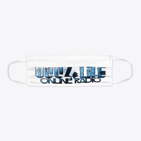 Ugs4 Life Online Radio Blue Face Mask Standard T-Shirt Flat