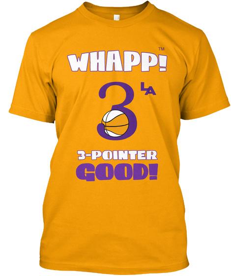 Tm L A Gold T-Shirt Front
