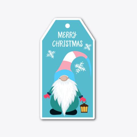 Merry Christmas   Trans Pride Sticker Standard Maglietta Front
