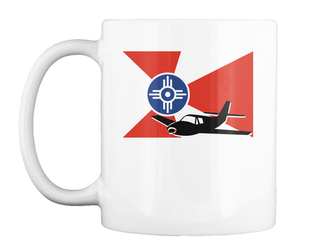 Air Capital White Mug Front